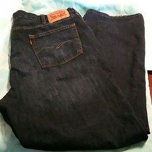 Men's Dark Wash Levi Strauss & Co 514 jeans